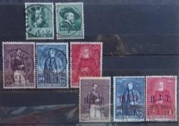 BELGIE  1930      Nr. 299 - 300 / 302 - 304 / 305 - 307   Gestempeld    CW  33,00 - Oblitérés
