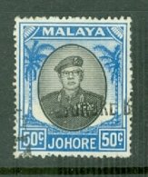 Malaya - Johore: 1949/55   Sultan Ibrahim    SG144    50c    Used - Johore