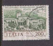 Italy Republic S 1503 1980 Fonte Avellana ,used - 6. 1946-.. Republic