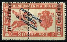 Arruecos Español Nº 66 Con Charnela - Spanish Morocco