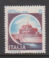Italy Republic S 1504 1980 Castle   Lire 5 S Angelo,used - 6. 1946-.. Republic