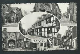 RYE - Watchbell Street , Mermaid Street , Mermaid Inn, Landgate , Lion Street  -  Mbj 103 - Rye