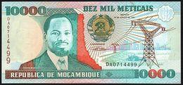MOZAMBIQUE - 10.000 Meticais 16.06.1991 {República De Moçambique} UNC P.137 - Mozambique