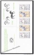 Czech Republic - Tcheque 1996 Yvert C120 Fauna, Kladruby Horse - Booklet -  MNH - Nuevos