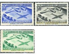 Ref. 296966 * MNH * - URUGUAY. 1952. 75th ANNIVERSARY OF UPU . 75 ANIVERSARIO DE LA UPU - U.P.U.