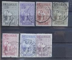 BELGIE  1933     Nr. 377 - 383     Gestempeld    CW 210,00 - Belgium