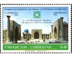 Ref. 190485 * MNH * - UZBEKISTAN. 1992. ARCHITECTURE AGA KHAN PRIZE . PREMIO AGA KHAN DE ARQUITECTURA - Uzbekistán