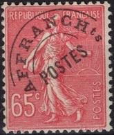 FRANCE Préo  48 * MLH Semeuse Lignée (CV 7 €) - Préoblitérés
