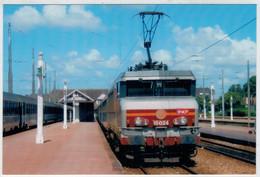 FRANCE-  DEAUVILLE    TRAIN -ZUG- TREIN -TRENI-  GARE  BAHNHOF-STATION-STAZIONE   2  SCAN   (NUOVA) - Trains