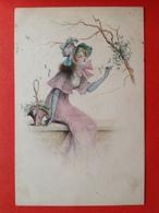 M.M. VIENNE - M. MUNK Nr 670 - FEMME ROMANTIQUE - ROMANTISCHE DAME - Vienne
