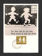 SARRE - SARR - DEUTSCHE BUNDESPOST - Carte Maximum 1958 - Max Et Moritz - Wilhelm Busch - Cartoline Maximum
