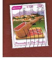 ITALIA REPUBBLICA  -   2009  PROSCIUTTO SAN DANIELE               -   USATO  ° - 6. 1946-.. Repubblica
