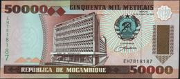 MOZAMBIQUE - 50.000 Meticais 16.06.1993 {Radar #EH7818187} UNC P.138 - Mozambique
