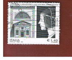 ITALIA REPUBBLICA  -   2009  PINACOTECA AMBROSIANA  -   USATO  ° - 6. 1946-.. Repubblica