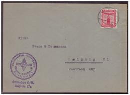 Dt- Reich (008493) Propaganda BDM I.d. HJ Obergauführerinnenschule, Obergau Schlesien, Ottmachau, Gelaufen Am 31.10.1943 - Deutschland