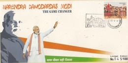 INDIA 2019  Prime Minister  Narendra Damodardas Modi  Special Cover  # 20648  C&D  Inde Indien - India