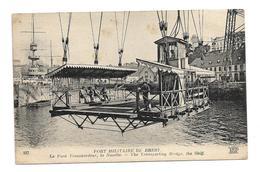 CPMJ1554 PORT MILITAIRE DE BREST LE PONT TRANSBORDEUR LA NACELLE - Brest
