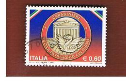 ITALIA REPUBBLICA  -   2009   CARABINIERI    -   USATO  ° - 1946-.. République