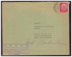Dt- Reich (008494) Propaganda Brief, HJ, Gebiet Württemberg- Landdienst Gefolgschaft Hohenlohe, Gel Gerabronn 23.10.1943 - Briefe U. Dokumente