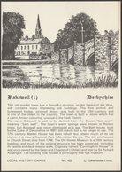 Bakewell, Derbyshire, C.1980s - Gatehouse Postcard - Derbyshire