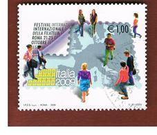 ITALIA REPUBBLICA  -   2009   FESTIVAL FILATELIA     -   USATO  ° - 6. 1946-.. Repubblica