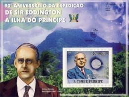 Sao Tome 2009 Sir Arthur Stanley Eddington –expeditions Of SaoTome & Principe Island,eclipse - Sao Tome En Principe