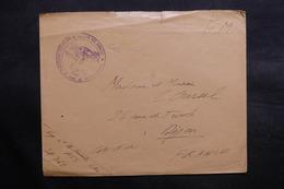 CÔTE DES SOMALIS - Enveloppe En FM Du Secteur Postal 760, Cachet Tirailleurs Sénégalais De La Côte Des Somalis - L 36079 - Côte Française Des Somalis (1894-1967)