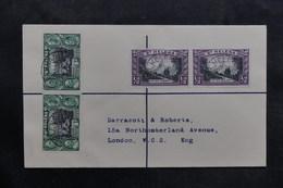 SAINTE HÉLÈNE - Enveloppe En Recommandé Pour Londres, Affranchissement Plaisant - L 36080 - St. Helena