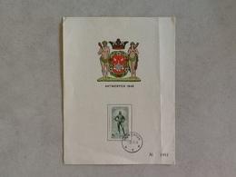 Nr.785 Dokwerker Eerstedagafstempeling 4-9-48. - Covers & Documents