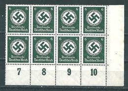MiNr. D 135 ** Bogenecke  (0402) - Deutschland