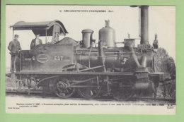 Machine Tender 0247, Service De Manoeuvres, Compagnie De L'Est. TBE. 2 Scans. Edition Fleury - Trains