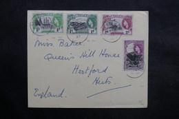 SAINTE HÉLÈNE - Enveloppe De L 'Union Castle Line En 1957 Pour Le Royaume Uni , Affranchissement Plaisant - L 36085 - Sainte-Hélène