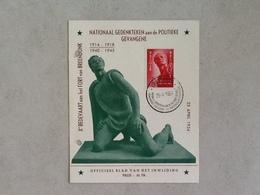 Nr.943 Breendonk -monument. Officieel Blad Van Het Inwijding. - Covers & Documents