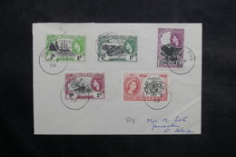 SAINTE HÉLÈNE - Enveloppe En Port Local En 1959 , Affranchissement Plaisant - L 36086 - Sainte-Hélène