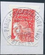 France - Marianne De Luquet 0.55€ YT A234 (4296) Obl. Cachet Rond Sur Fragment - France