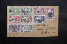 SAINTE HÉLÈNE - Enveloppe En Port Local En 1953 , Affranchissement Plaisant - L 36087 - St. Helena