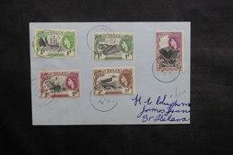 SAINTE HÉLÈNE - Enveloppe En Port Local En 1954 , Affranchissement Plaisant - L 36091 - St. Helena
