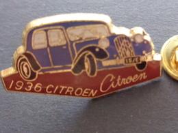 PIN'S VOITURE 1936 CITROEN - Citroën
