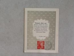 Nr.809 Epauletten. Menukaart. - Covers & Documents