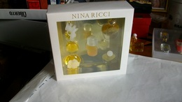 Coffret De Miniatures  Ricci  5 Bouteilles Pleines - Miniatures Womens' Fragrances (in Box)