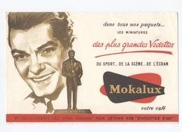 BUVARD-  --Café MOKALUX  JEAN MARAIS  --  Z900 - Café & Thé