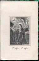 Gheel. Oud Doodsprentje Litho H. Angéle. - Religion & Esotérisme