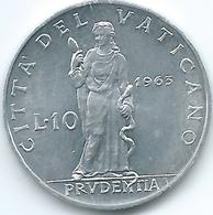 Vatican City - Paul VI - 1963 - 10 Lire - KM79.1 - Vatican