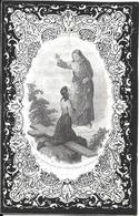 Gheel. Oud Doodsprentje. 1858. - Religión & Esoterismo