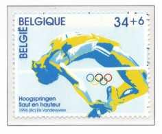 D - [153696]TB//**/Mnh-[2648] Belgique 1996, 100 Ans Des Jeux Olympiques, Atlanta 1996, Sports, Saut En Hauteur, Jonckhe - Summer 1996: Atlanta