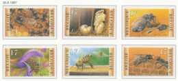 D - [153840]TB//**/Mnh-[2715/20] Belgique 1997, Nature, Abeilles Et Apiculture, Insectes, Du Carnet 28, SC, SNC - Honeybees