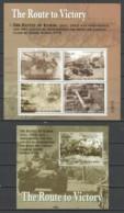 Palau 2005 Kleinbogen Mi 2471-2474 + Block 199 MNH WORLD WAR 2 - THE BATTLE OF KURSK - WW2