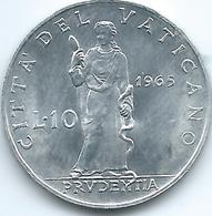Vatican City - Paul VI - 1965 - 10 Lire - KM79.2 - Vatican