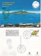 """ITALIA 1999 - """"LA SICILIA RICORDA JOE DI MAGGIO"""". - Baseball"""