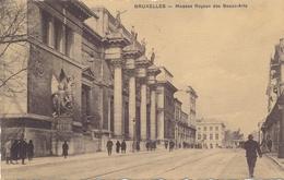 CPA - Belgique - Brussels - Bruxelles - Musées Royaux Des Beaux-arts - Musées